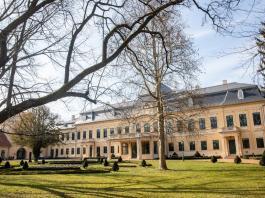 A gyulai Almásy-kastély 2021. március 19-én