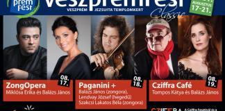 VeszprémFest 2021 zenei fesztivál