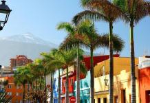 Tenerife, Puerto de la Cruz, Spanyolország