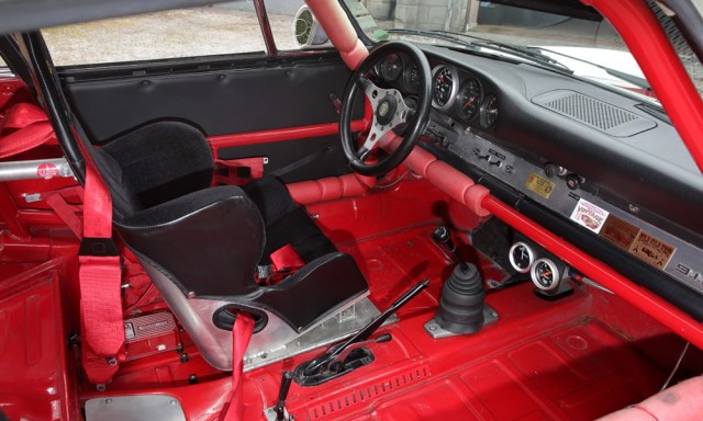 Race-prepared 1969 Porsche 911S coupe