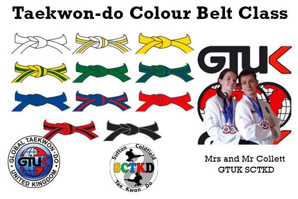 Colour Belt lesson