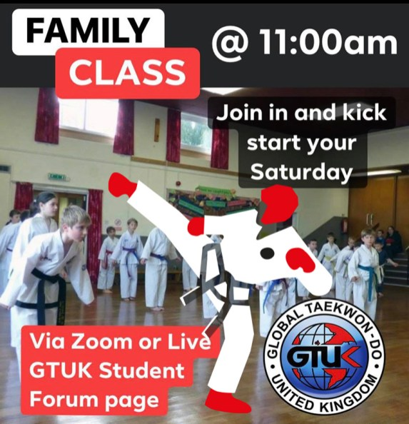 Taekwondo class GTUK LIVE