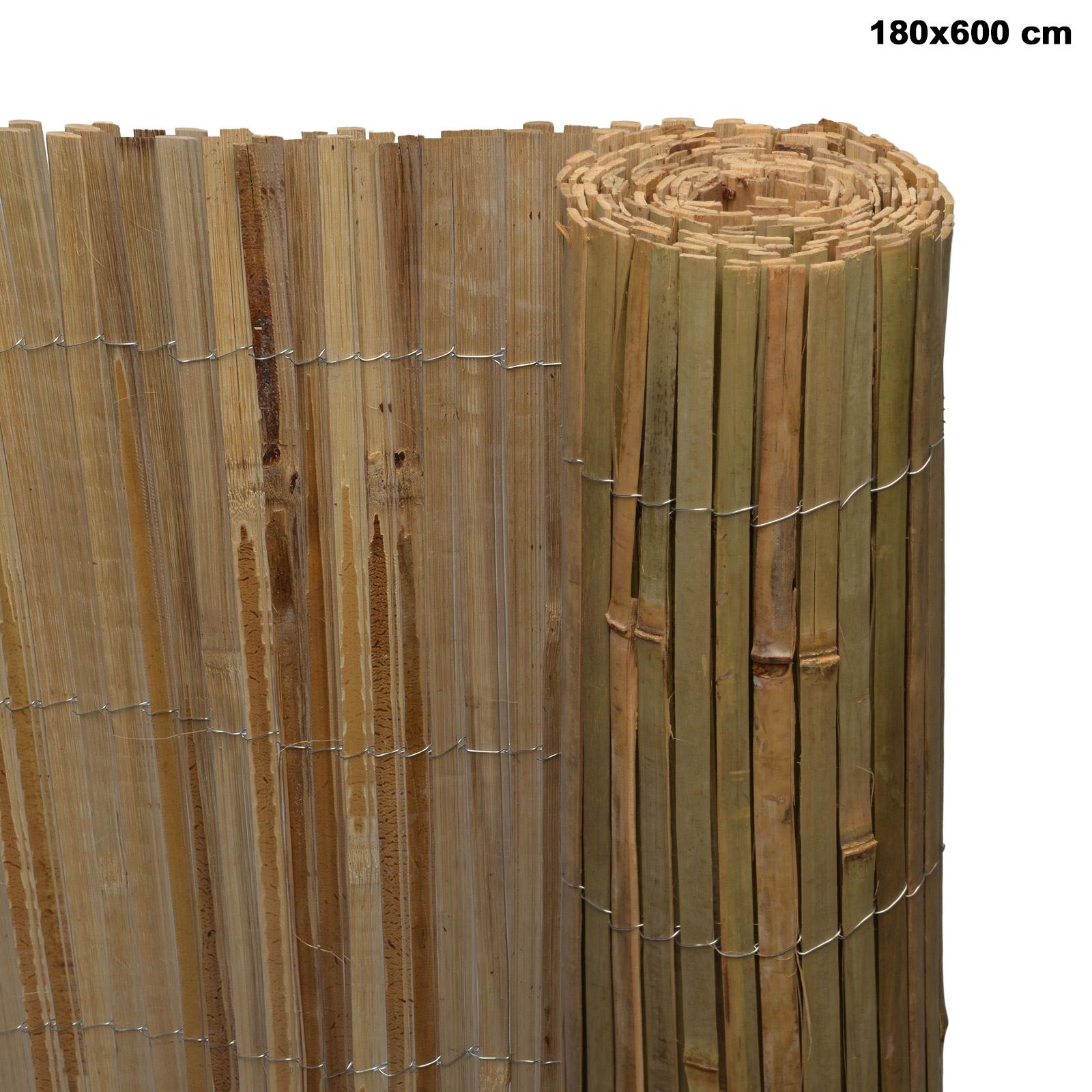 Sichtschutz Bambus Sichtschutzzaun Sichtschutzmatte Balkon