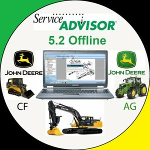 John Deere Service Advisor 5.2.471 DATABase 2018 3 s l300