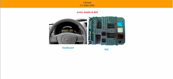 Dashboard PIN OUT LOCALIZATION EEPROME 6 57 20