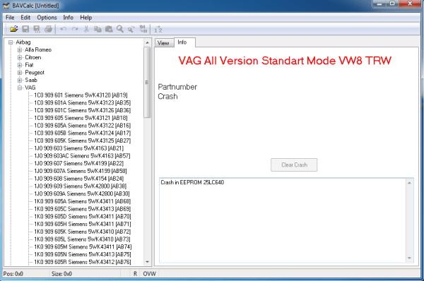 calculate immo car audio ECU BSI and BCM 2 57 26