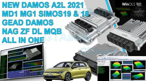 Damos 2021 MD1 MG1 EDC17 SIMOS 19 2020
