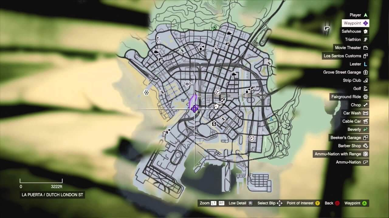 V Gta Map Online Missions