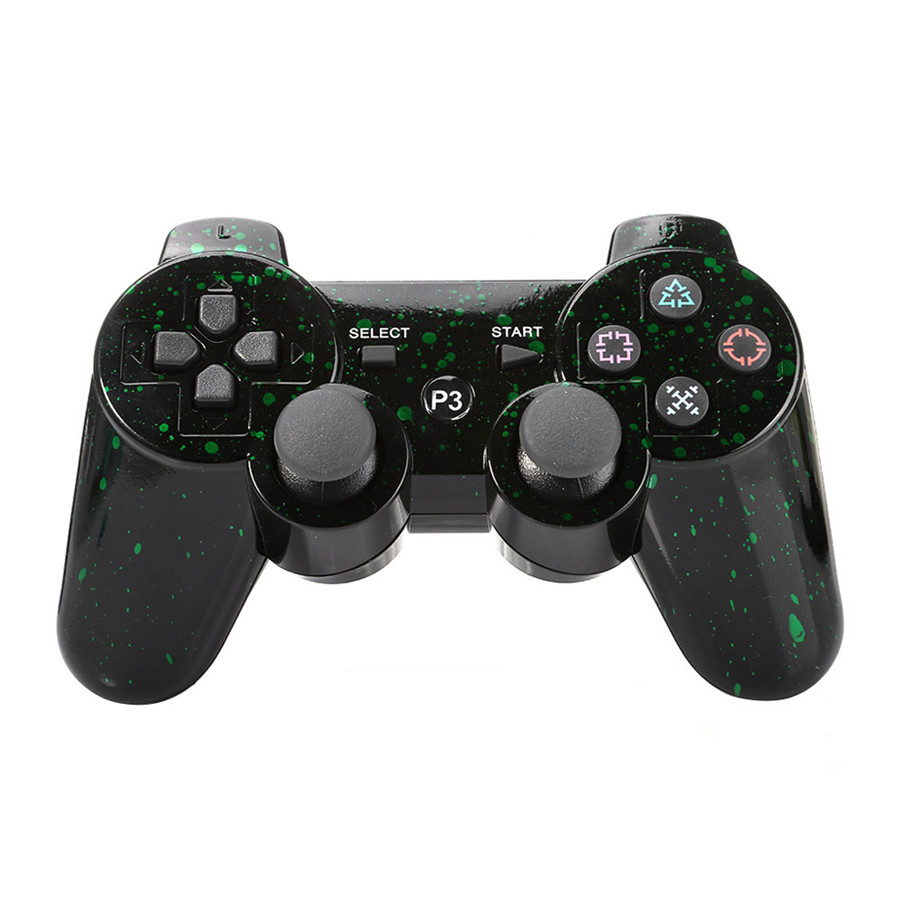 Patterned Wireless Dual Shock Controller For PS3 GTA Central