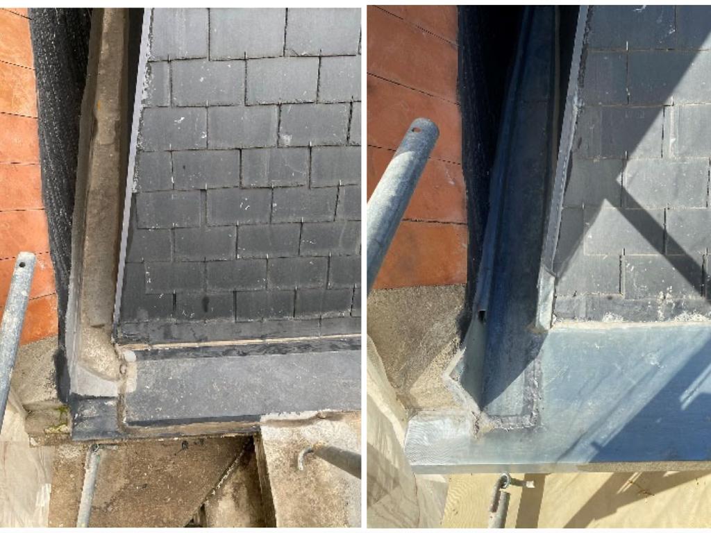 rehabilitación cubierta limahoya zinc