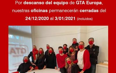 Descans de l'Equip de GTA Europa per Nadal