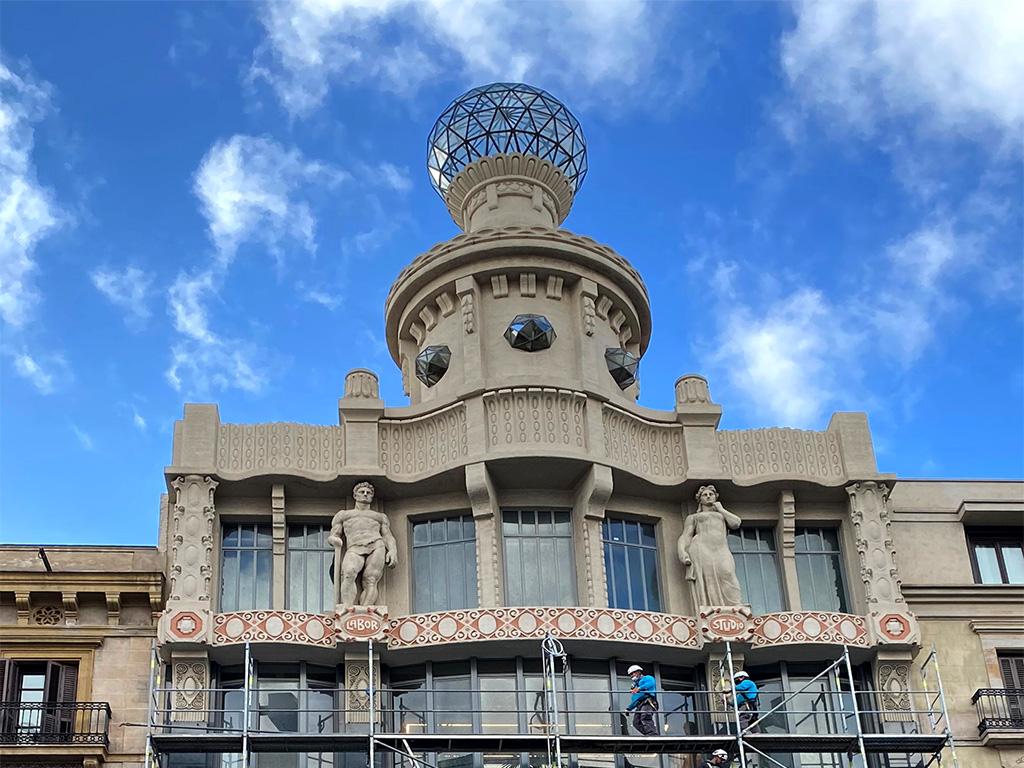 Casa Demians, store de C&A en Pelayo, 54 de Barcelona