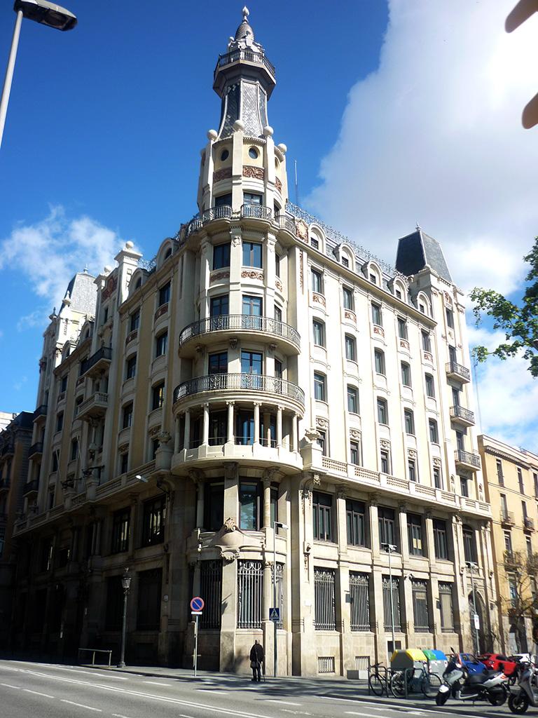 Edificio Via Laietana, 2 antes rehabilitación
