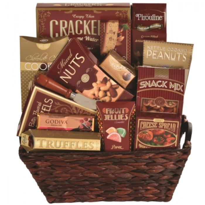 Savory Temptations Gift Basket