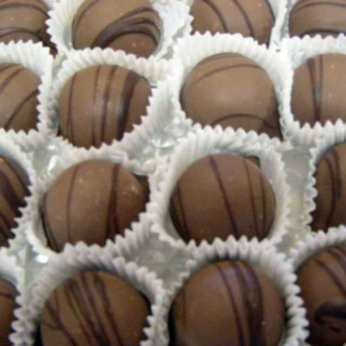 Traditional Milk Chocolate Truffles