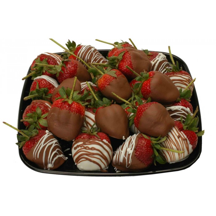 Chocolate Strawberries Platter for Offices