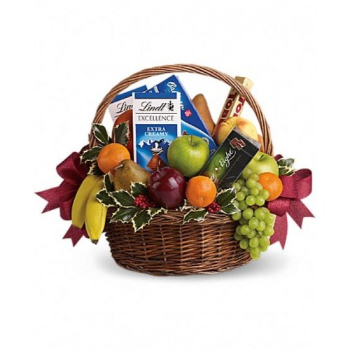 Fresh Fruit Gift Baskets Christmas