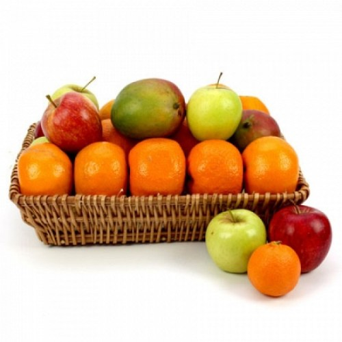 All Fruity Fruit Basket, sympathy gift, grieving basket, fruit gift, sympathy fruit basket delivery Toronto
