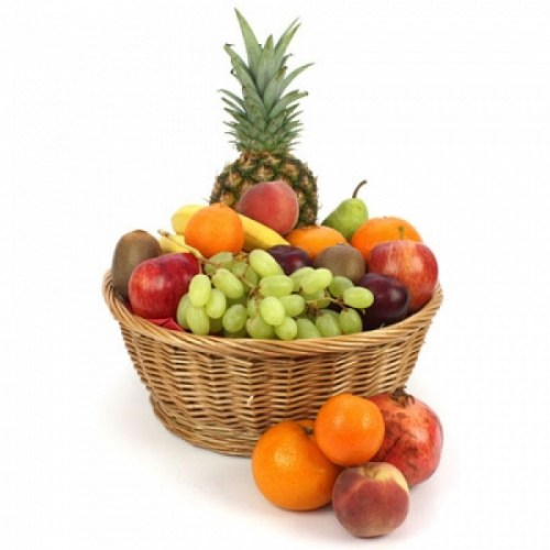 Sympathy Fruit Temptation, fruit basket Canada, fruity delights, Aurora fruit basket delivery