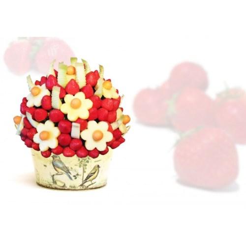 Sympathy Edible Fruits, strawberry arrangement Toronto, fruit bouquet, edible fruits delivery Pickering