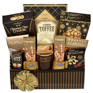Christmas-Holiday-Corporate Gourmet Baskets