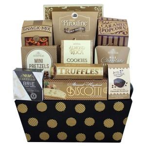 Sweet Favorites gift basket, Corporate gift basket Vaughan, gift baskets delivery Vaughan, Office gifts