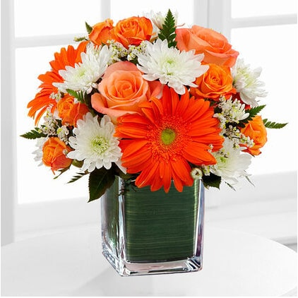 Cheerful floral arrangement by FTD