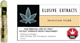 hawaiian haze vape cartridge