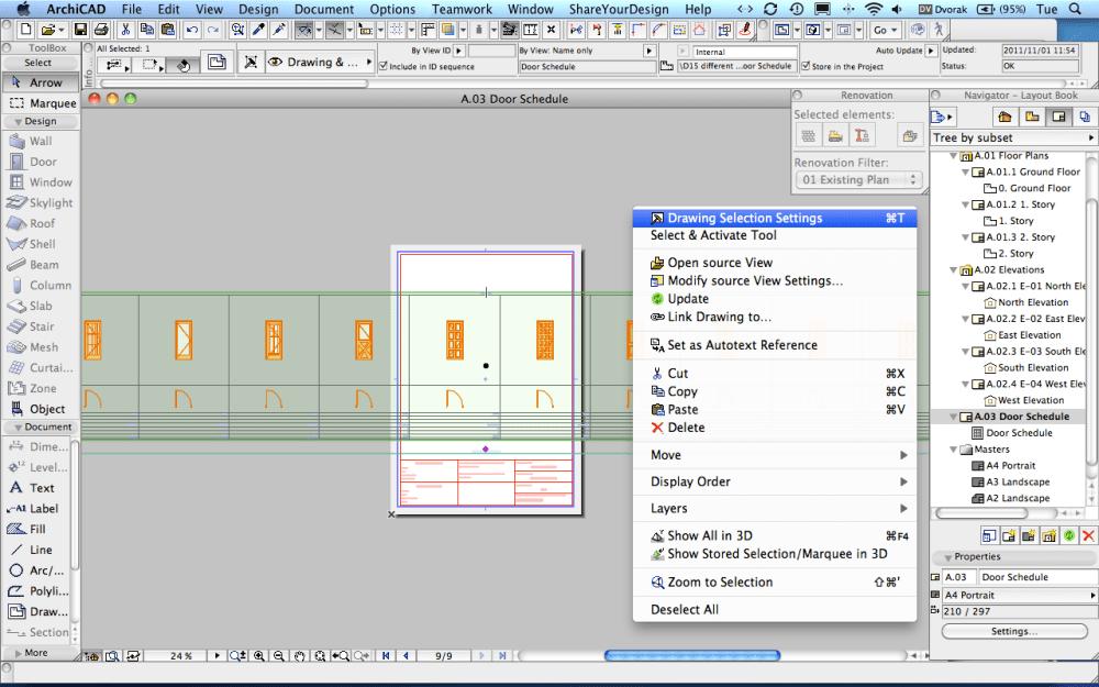 How to: Split a Schedule (Door/ Window) into Multiple Layouts (5/6)