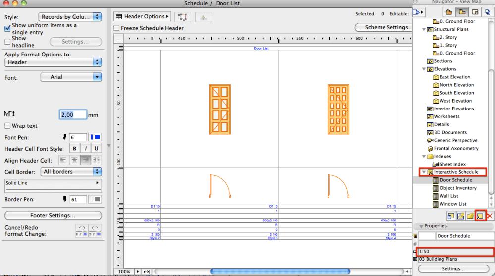 How to: Split a Schedule (Door/ Window) into Multiple Layouts (2/6)