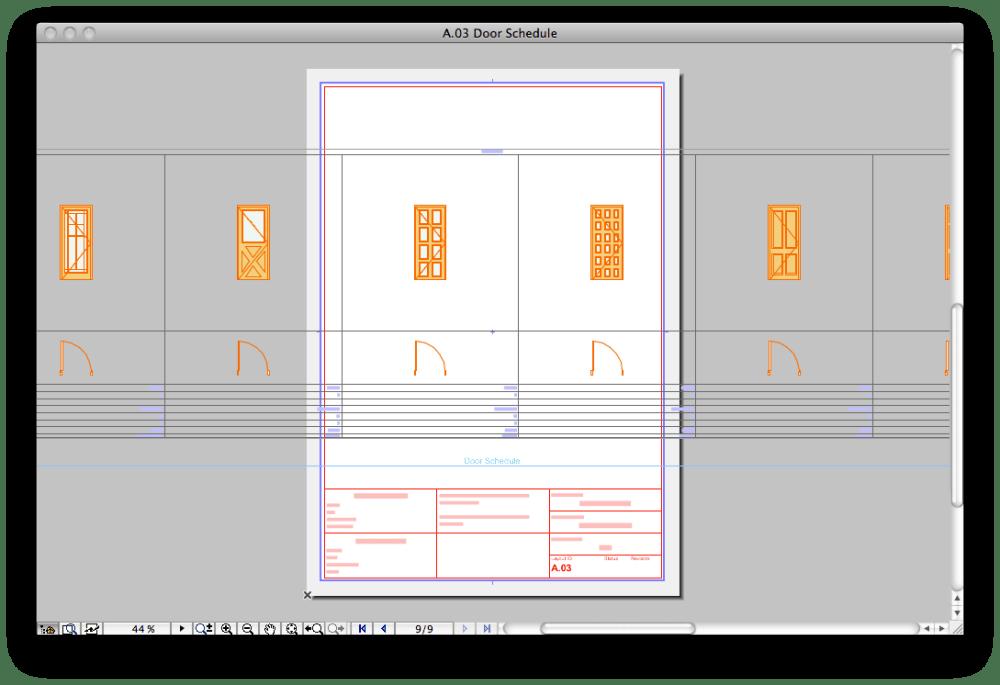 How to: Split a Schedule (Door/ Window) into Multiple Layouts (1/6)