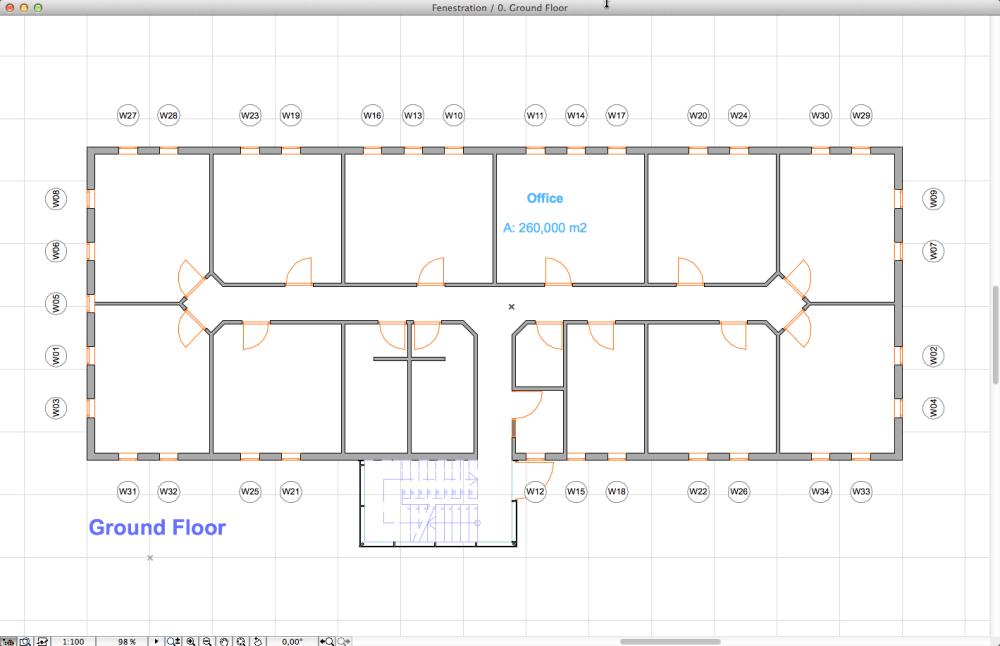 Window-to-floor area ratio calculation in 4 easy steps (SANS 10400-XA 4.4.4.1 & 2) (2/6)