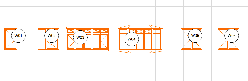 How to: Add Door / Window Markers to Elevations or Sections (5/5)