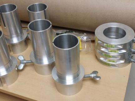 aluminum, shaft collars