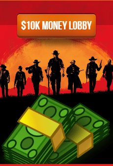 Red Dead Redemption Online modded money lobby