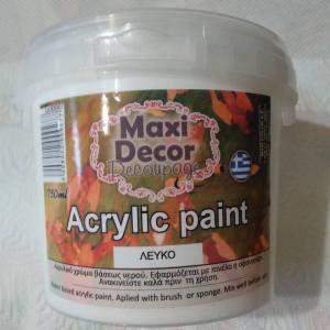 Vopsele acrilice Maxi Decor (100%) Profesionala 750ml