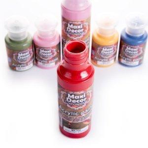 Vopsele acrilice Maxi Decor 130ml