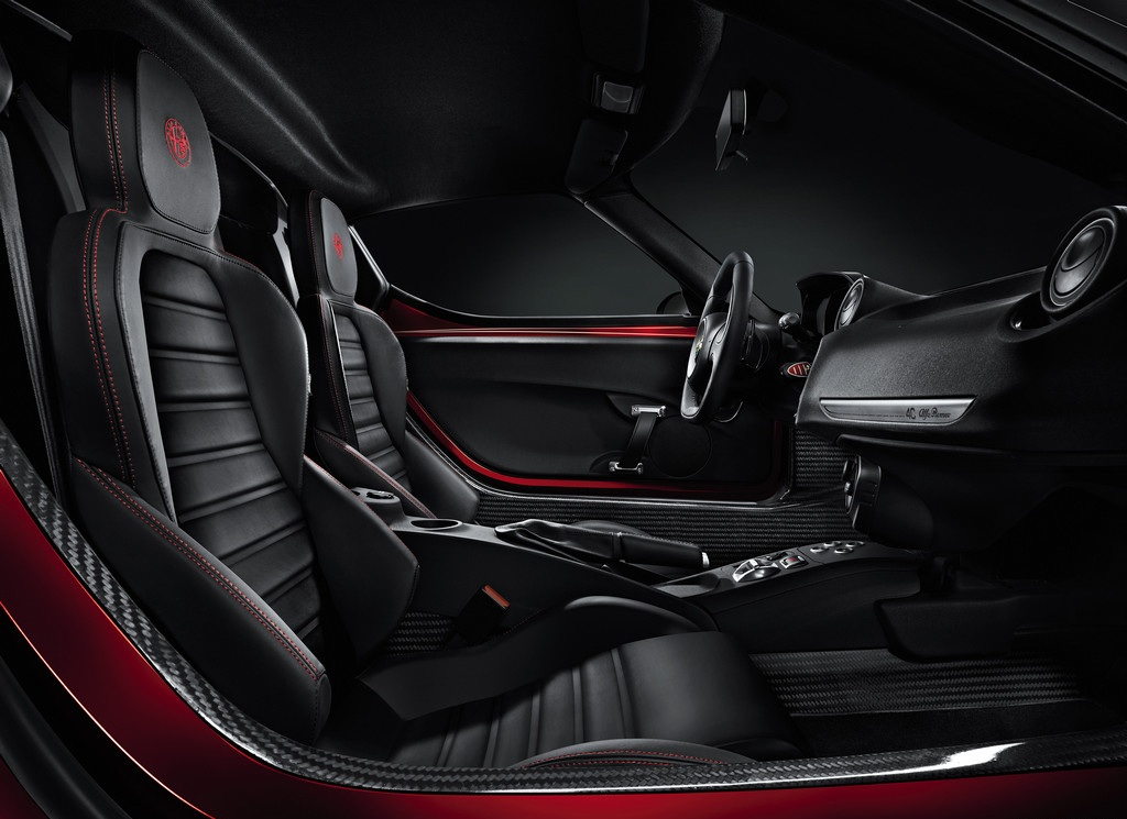 2014 Alfa Romeo 4C Interior View