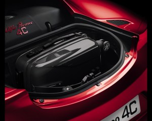 2014 Alfa Romeo 4C Rear Trunk