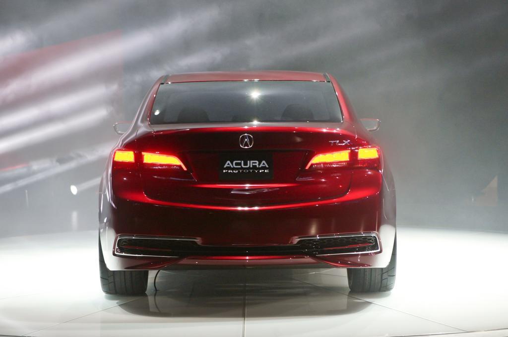 2015 Acura TLX Rear Design
