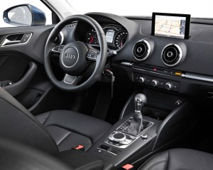 2015 Audi A3 Dashboard and Cockpit View