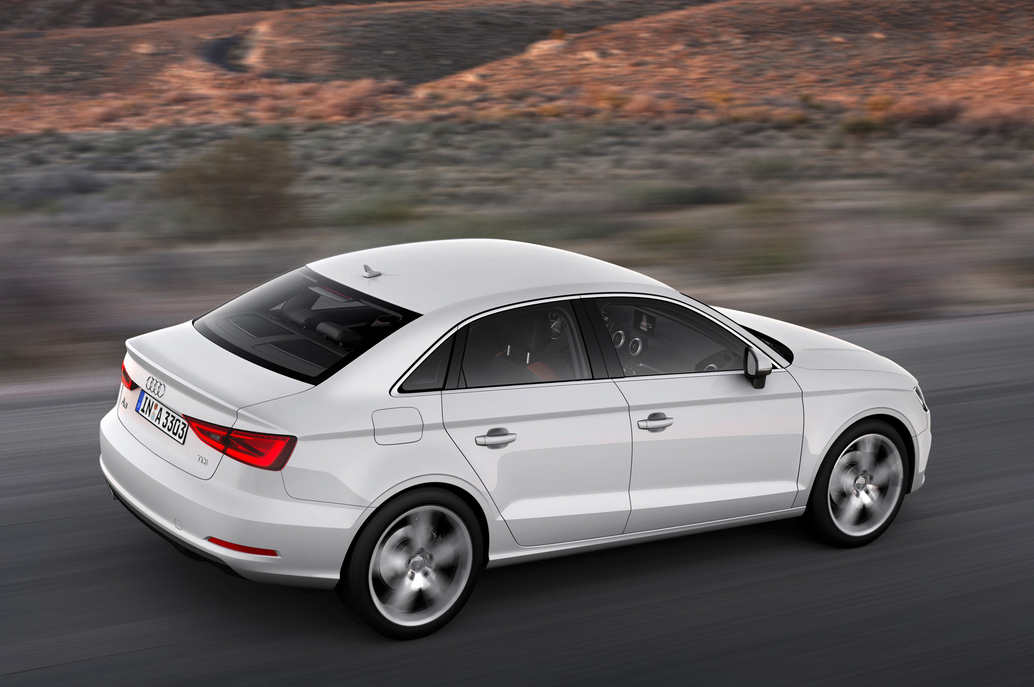 2015 Audi A3 Rear Side View
