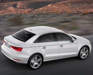 2015 Audi A3 Rear Side View