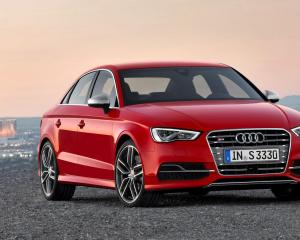 2015 Audi A3 Red Front View