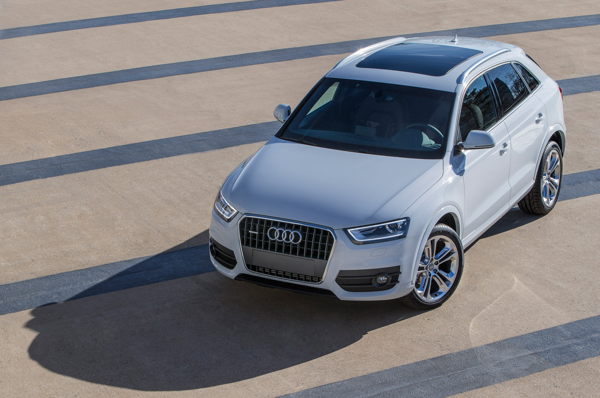 2015 Audi Q3 Above View