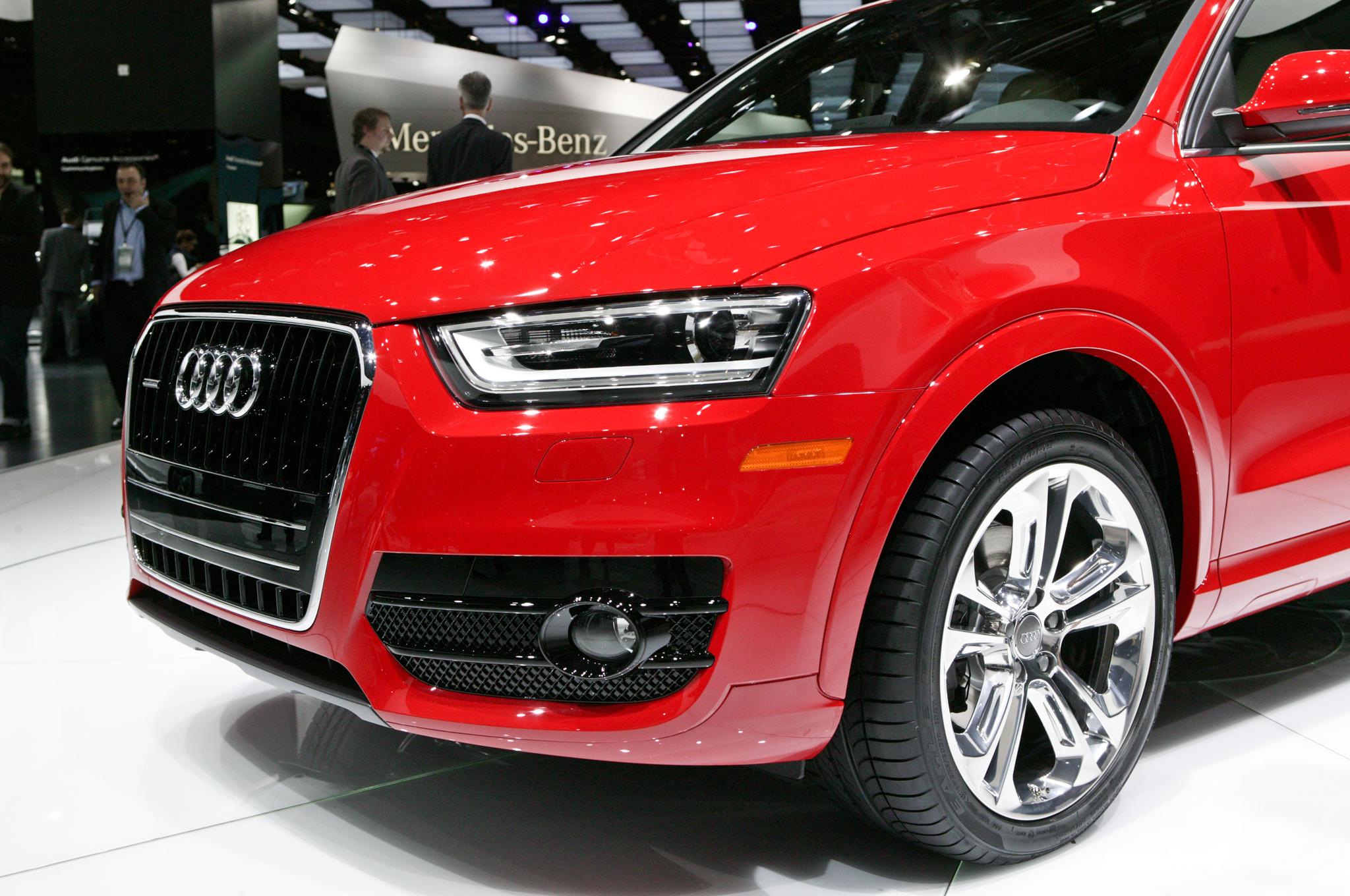 2015 Audi Q3 Front Fog Lamp