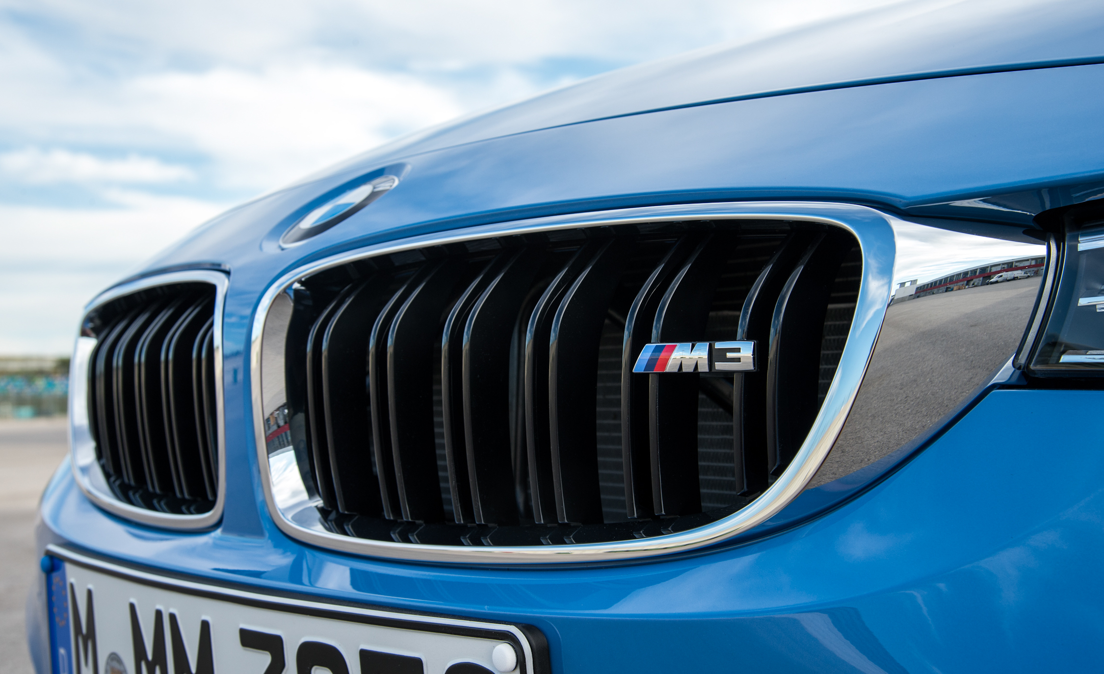 2015 BMW M3 Exterior Grille