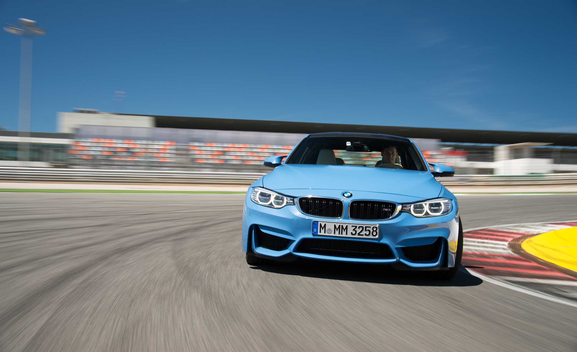 2015 BMW M3 Performance Front View
