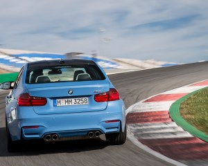 2015 BMW M3 Performance Rear View