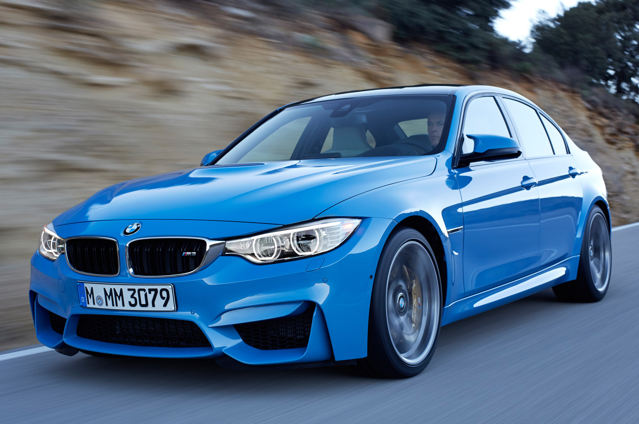 2015 BMW M3 Road View
